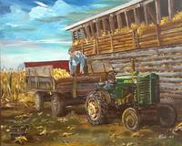 HARVEST IN THE 1950s