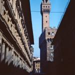 """""""The Tower of Asinelli, Bologna, Italy, 1961"""" by PriscillaTurner"""