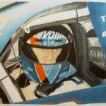 """Mark Martin"" by WildArt"