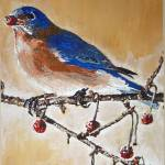 """EASTERN BLUEBIRD"" by RuthDriedger"