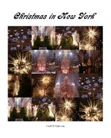 Christmas in New York City Collage