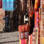 """Moroccan Textiles Shop"" by melissashouse"