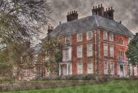 Forty  Hall in the Rain