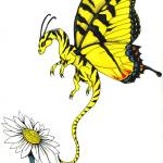 """Tiger Swallowtail Dragonfly"" by Enchantments"