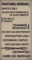 Traditional Marriage Includes...