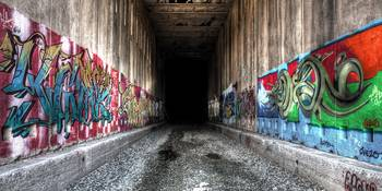 Tunnel  to Graffiti Land