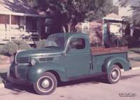 old green truck 2