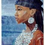 """Bahamian  Swim"" by Imani"