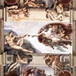 """Ceiling_of_the_Sistine_Chapel_detail1"" by ArtLoversOnline"
