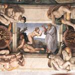"""Ceiling_of_the_Sistine_Chapel_detail2"" by ArtLoversOnline"