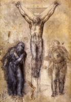 Crucifixtion with the Virgin and Johannes