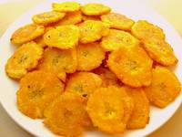 Tostones (Fried Green Plantains)