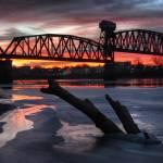 """Boonville: Katy Bridge 1.23.2009"" by notleyhawkins"