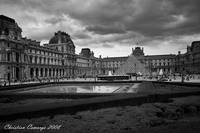 Clouds over Louvre