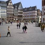 """April Evening, City Centre, Frankfurt-am-Main"" by PriscillaTurner"