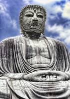 The Great Buddha (Daibutsu) - Kamakura, Japan