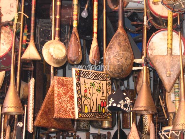 Moroccan Musical Instruments by Yvonne Ayoub