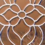 """""""brown and brass Stained Glass Abstract"""" by crazyabouthercats"""
