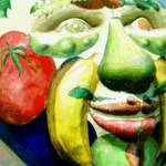 """Fruit Face"" by fashion101"