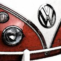VW Camper Art Prints & Posters by Heather Caldevilla