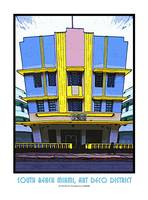 Hotel Leslie, South Beach Miami, Art Deco District