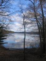 Sky Reflection on Lake Cochituate