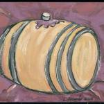 """Barrel"" by cellarpaintings"