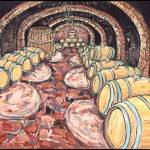 """Old Cellar at Pira"" by cellarpaintings"