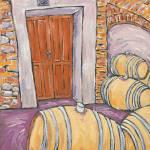 """""""E. Pira e Figli """"Chiara Boschis"""" Cellar Door"""" by cellarpaintings"""