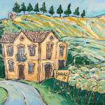 """Road to Barolo"" by cellarpaintings"
