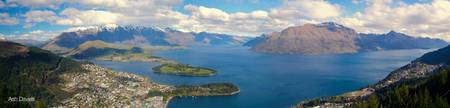 New Zealand - Queenstown Panorama