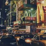 """""Crosstown Traffic"" New York Watercolor"" by PaulJacksonArt"