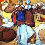 """Breton Women after Emile Bernard"" by ArtLoversOnline"