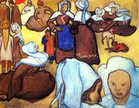 Breton Women after Emile Bernard