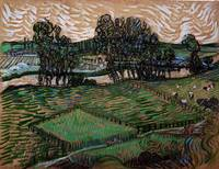 Landscape with Bridge Across the Oise