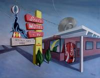 Paintings - Seal's Motel