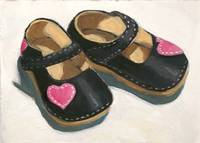 Little  Shoes With Hearts