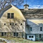 """New England Farmhouse"" by digitalvisions"