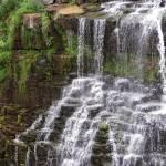 """Waterfalls on Rocks"" by dchristi"