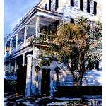 """Moultrie-Glen House, 37 Legare St.-circa 1818-Char"" by debereves"