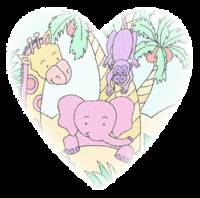 Jungle Baby Heart 2