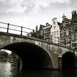 """Amsterdam Canal Bridge"" by WWanderlust"