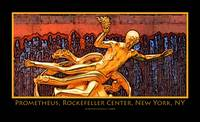 Prometheus, Rockefeller Plaza, New York, NY