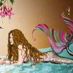"""""""Fish & Bird Mermaid"""" by joellerene"""