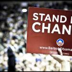 """Stand For Change (Obama rally)"" by joshwilliamson"