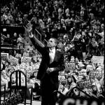 """Barack Obama (Obama rally)"" by joshwilliamson"