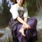 """Au bord du ruisseau"" by ArtLoversOnline"