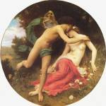 """Bouguereau Cupid and Psyche"" by ArtLoversOnline"