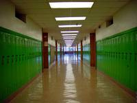 Bryan Adams High School Hallway