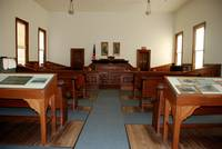 Courtroom in Tombstone Courthouse